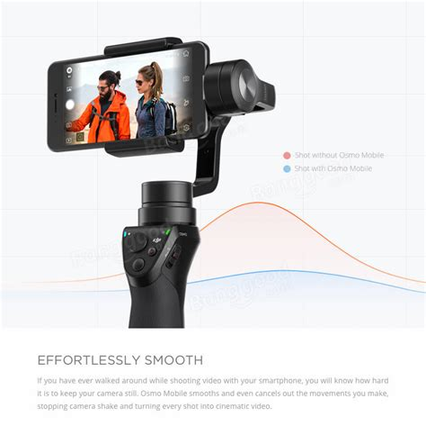 Promo Dji Osmo Mobile 3 dji osmo mobile 3 axis handheld steady gimbal for iphone sale banggood