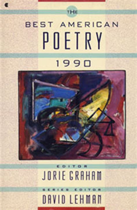 The Greatest American Wiki The Best American Poetry 1990