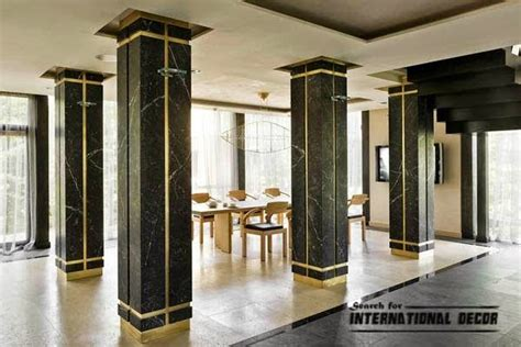 fundamentals of interior design design decoration decorative columns stylish element in modern interior