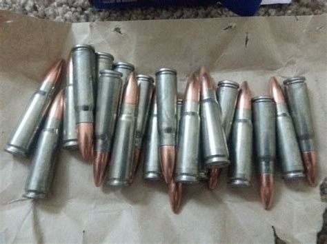 colored bullets russian silver 7 62 215 39 ammo the ammo