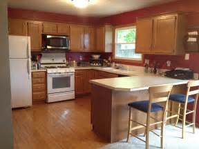 Kitchen Color Ideas by Painting Kitchen Cabinets Sometimes Homemade