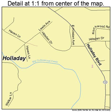 holladay utah map 4936070