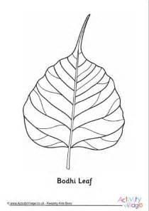 Buddha Decorations For The Home by Bodhi Leaf Colouring Page