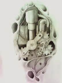 biomechanical tattoo by aqata16 on deviantart