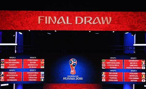 Klasemen Grup Piala Dunia 2018 Catat Hasil Undian Pembagian Grup Piala Dunia 2018