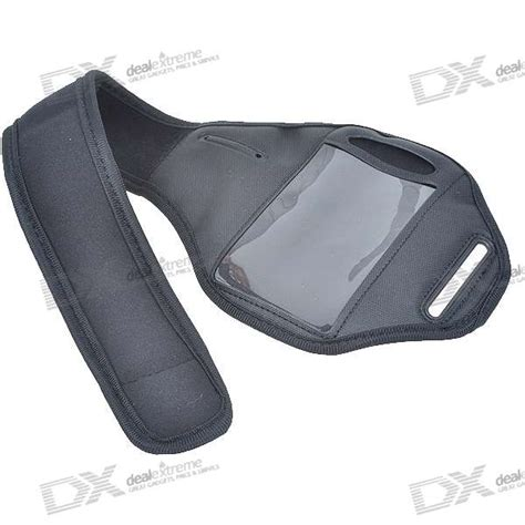 Neoprene Material Sports Armband cheap neoprene sport armband for iphone 4 black