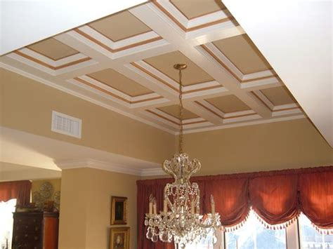 faux coffered ceiling faux coffered ceiling kits creative ceiling ideas