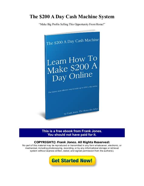 5 simple steps to start 200 day profit how to make 200 a day free report