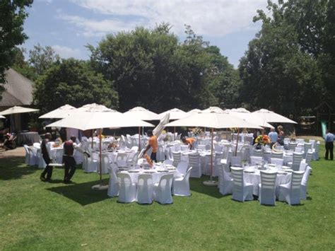 Wedding Rentals by Outdoor Umbrella Rental For Functions And Weddings In Gauteng