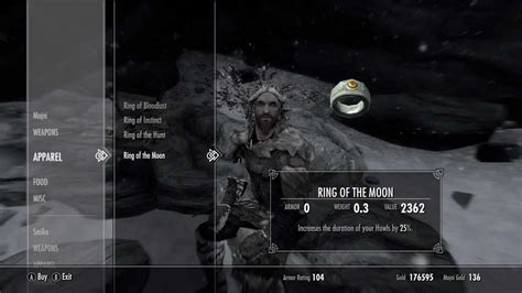 skyrim dragonborn unique rings rings of the