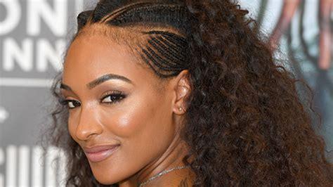 african inspired hairstyles jourdan dunn is an african queen in tribal inspired hairstyle