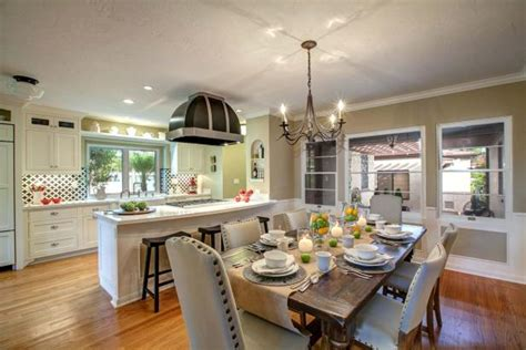 casual kitchen eating area transitional kitchen photo page hgtv