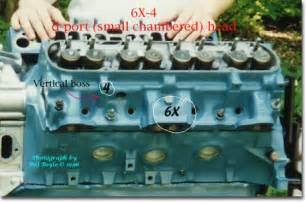 Pontiac 350 Heads 6x Id