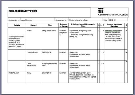 free coshh risk assessment template coshh inventory template 28 images coshh risk