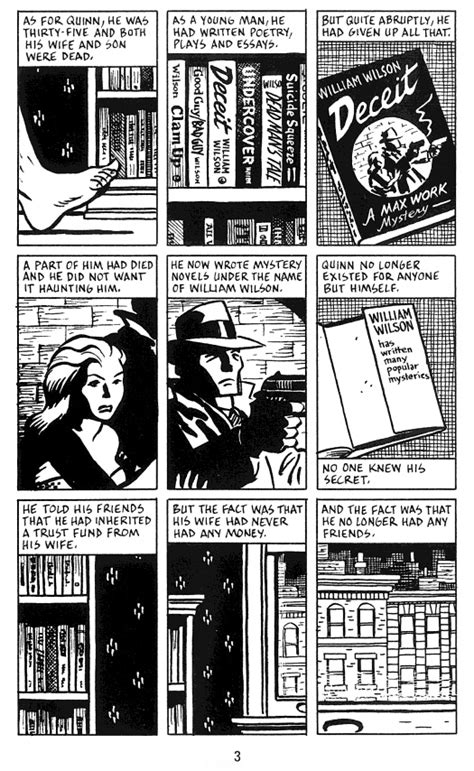 city of glass the graphic novel new york trilogy city of glass the graphic novel comic book daily