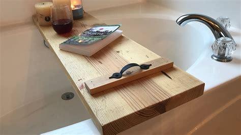 beginner woodworking project bathtub caddy youtube