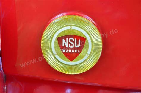 Nsu Motorr Der Logo by Nsu Wankel Logo Auf Motorhaube Hinten 5490