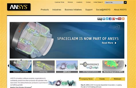 ansys buys spaceclaim