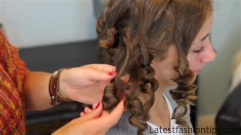 26 Easy No Heat Hairstyles Latest Outfit Ideas | cocoon curls easy no heat curls hairstyles