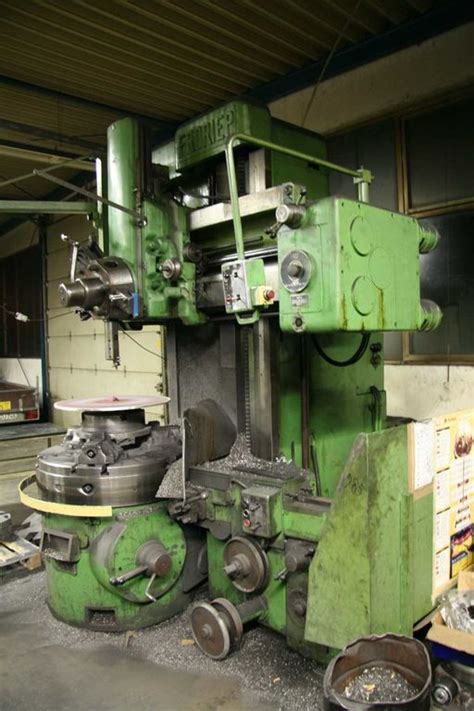 Lathes Froriep 1000 Vertical Turret Turning Lathe
