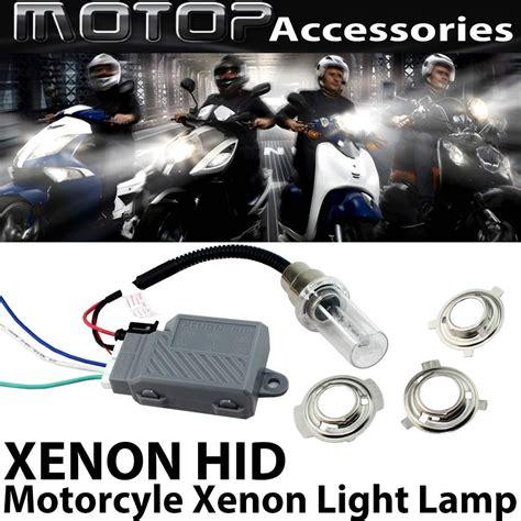 Lu Moto Hid Xenon Light 12v 35w 6000k 8000k 10000k 12v 35w 6000k motorcycle xenon hid conversion kit h6m h4 ba20d hi lo beam bi xenon hid headlight