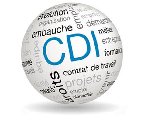 le contrat à durée indéterminée (cdi)