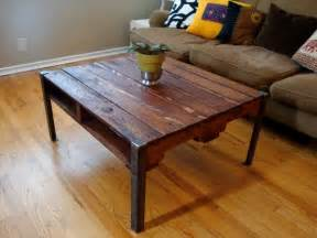 Rod Iron Dining Room Set Diy Pallet Wood Table With Steel Legs Pallet Furniture Plans