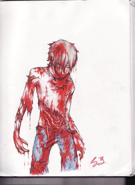 anime zombie 2017 zombie boy by melikeschocolate on deviantart