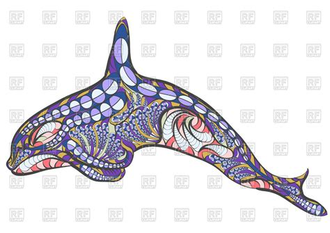 eps clipart ethnic whale royalty free vector clip image