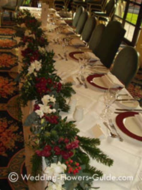 ideas  christmas wedding flowers