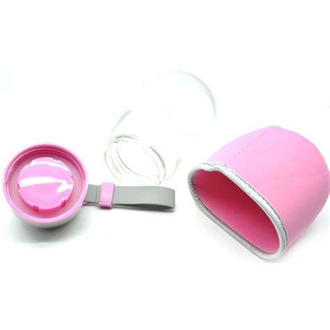 Botol Minum Penguin Silikon 400ml Pink Promo botol minum penguin silikon 400ml pink jakartanotebook