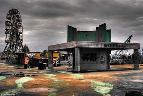 theme park zombieland welcome to zombieland images of theme park devastated