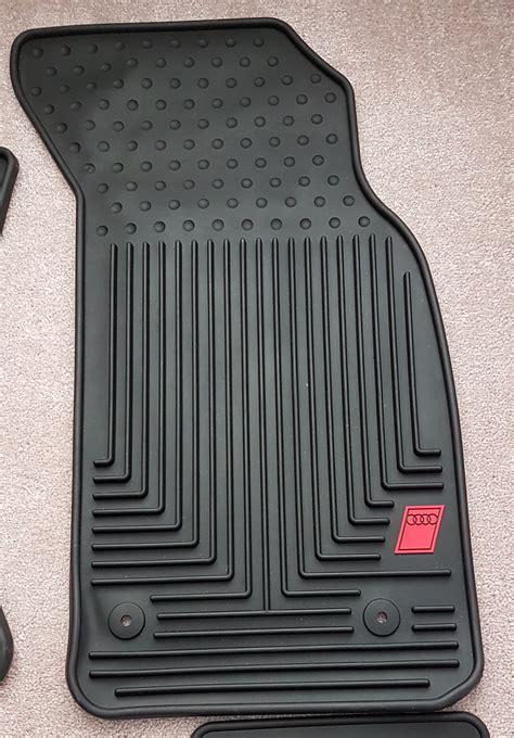 Audi S4 Floor Mats by Audi B5 S4 Rubber Floor Mats Floor Matttroy