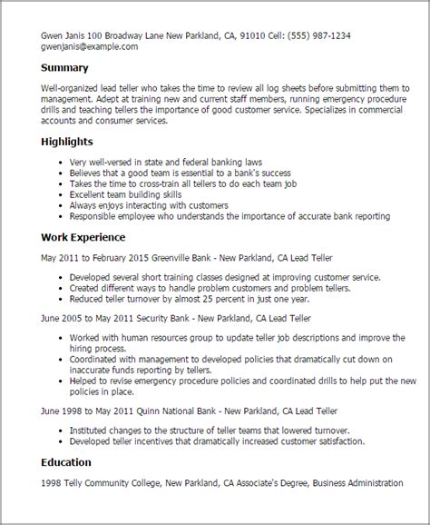 The Essential Laws Of Banking Explained by Lead Teller Resume Template Best Design Tips