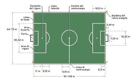 dimensione porta calcio sport calcio