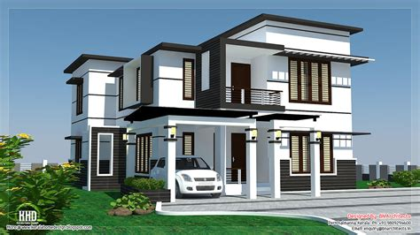 videos on home design 2500 sq feet 4 bedroom modern home design kerala home