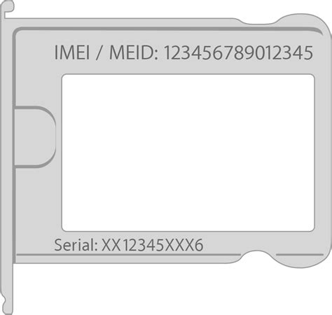 find the serial number or imei on your iphone or ipod touch apple support