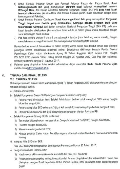 Contoh Surat Lamaran Cpns Kajaksaan Agung by Contoh Surat Lamaran Cpns Mahkamah Agung Tulis Tangan