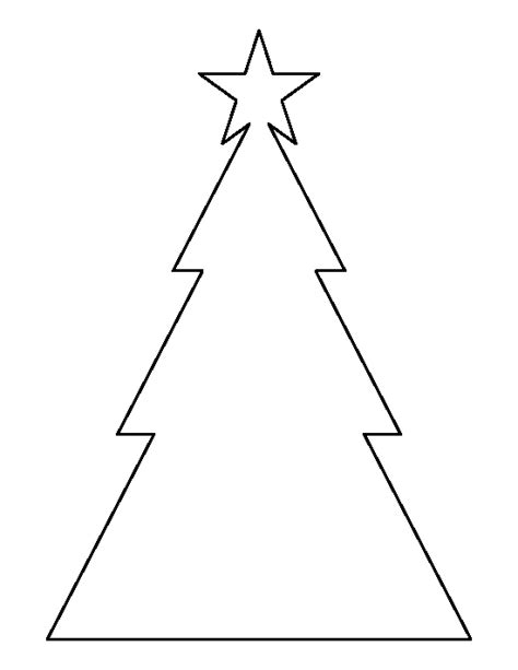 christmas tree triangle pattern triangle christmas tree pattern use the printable outline