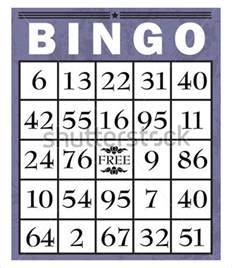Bingo Card Template Free by Bingo Card Template 9 Free Word Pdf Jpeg Vector
