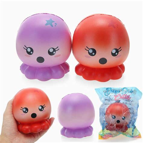 Squishy Lucu Connie Doll Original cutie creative squishy octopus 10cm rising original
