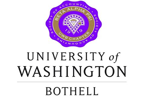 How Many Credits To Complete Mba Uw Bothell uwb beta alpha psi 187 mu psi chapter honorary accounting