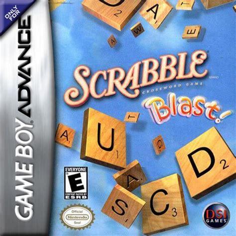 scrabble blast scrabble blast nintendo boy advance gba