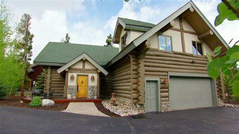 log cabin in breckenridge hgtv