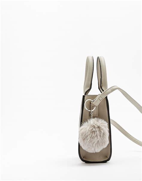 Bershka Textured Mini Tote Bag bags accessories bershka united states