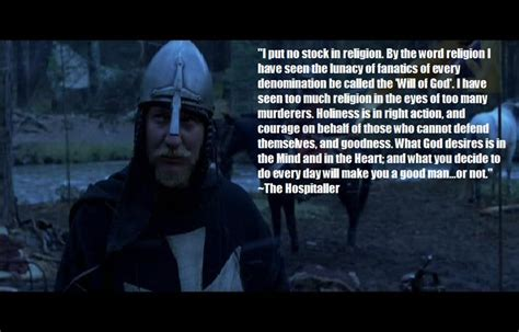 movie quotes kingdom of heaven my favorite movie quote from kingdom of heaven moving