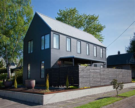 modern house gable roof modern house