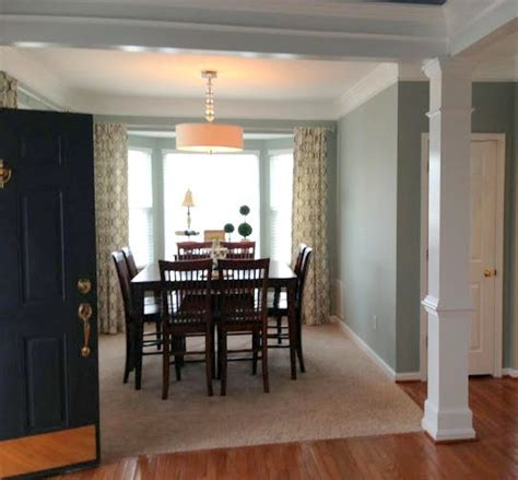 how to choose paint colors for an open floorplan dining room ideas colors gray