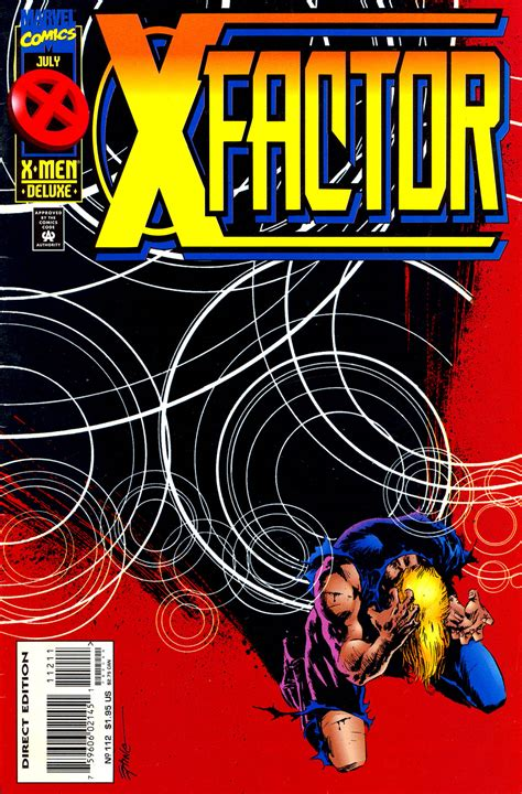 x vol 1 x factor vol 1 112 marvel comics database