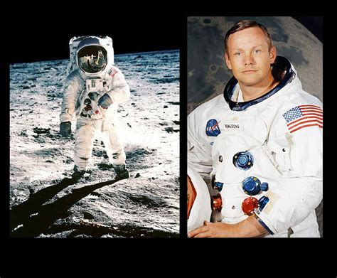 Neil Armstrong An American Neil Armstrong The Half A Billion Watched Walk The Moon Politic365 Politic365
